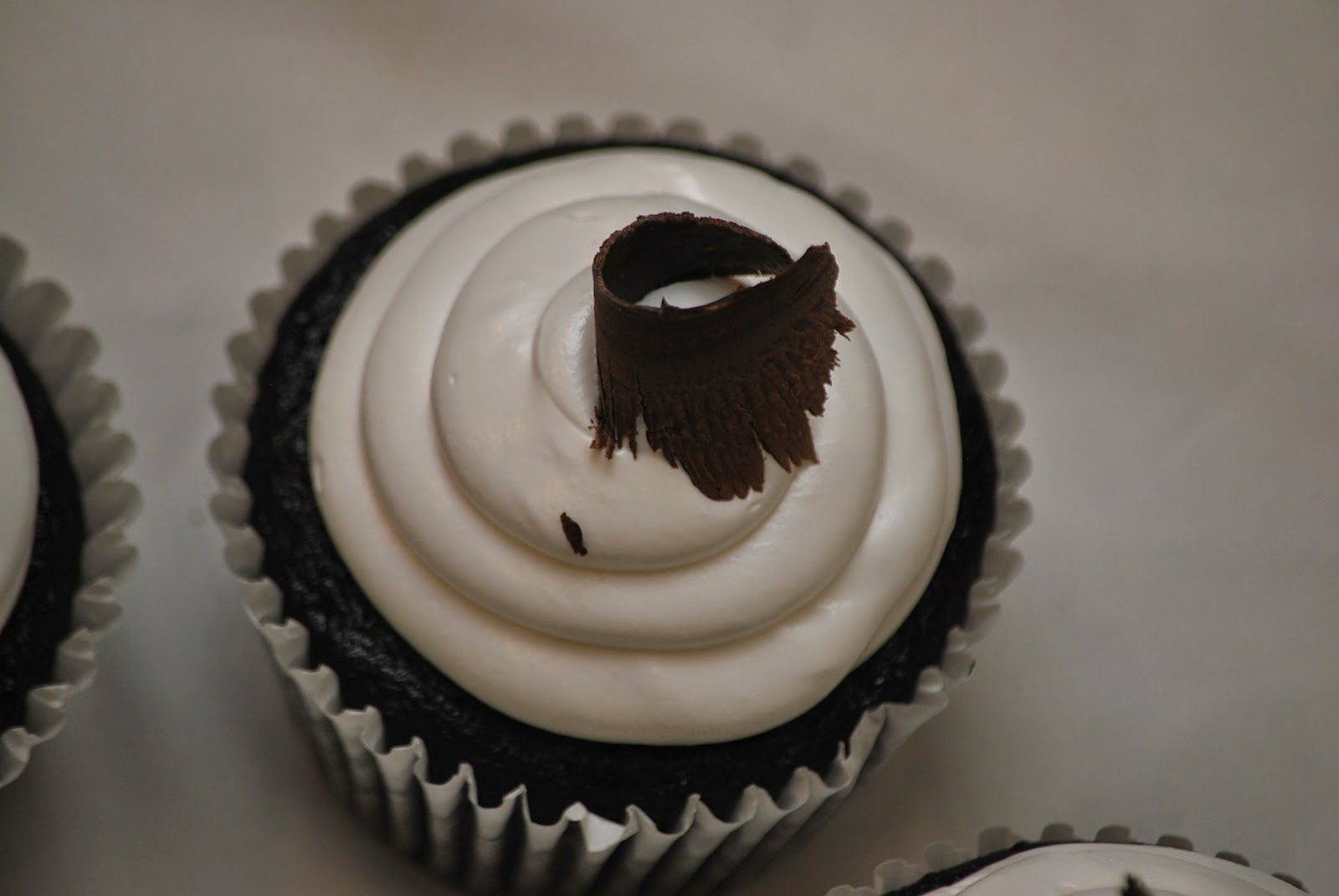 My story in recipes: Black Tie Cupcakes