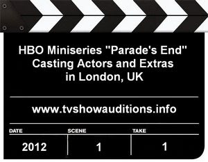 HBO Parades End London Casting Call