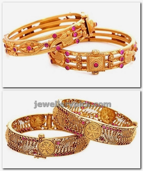 antique bangles malabar gold