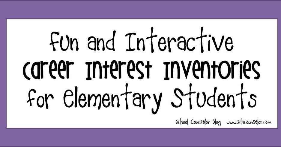 photograph regarding Interest Inventory for Elementary Students Printable identify Faculty Counselor Site: Exciting and Interactive Profession Notice