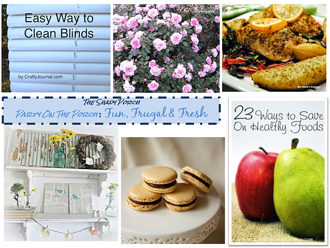 Party On The Porch: Fun, Frugal and Fresh
