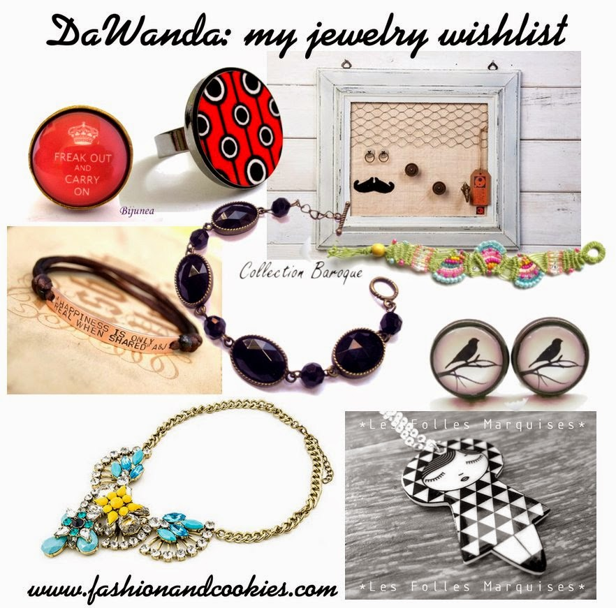 dawanda wishlist, Fashion and Cookies, fashion blogger