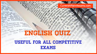 English Quiz for SSC CGL 2015