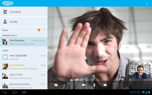 how to make video call in skype in windows mobile
