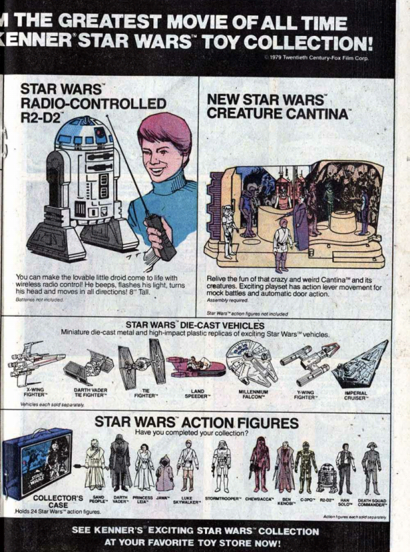 Image result for star wars kenner comic ad