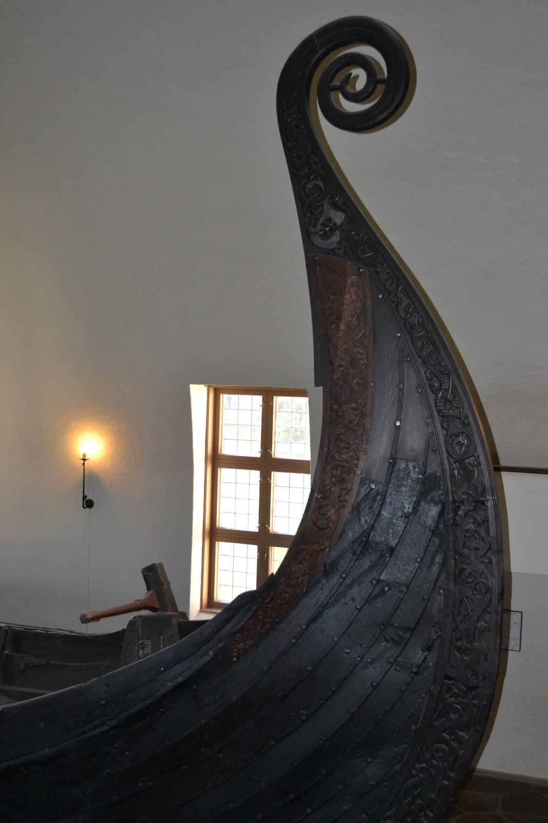 Closure look of Viking ships
