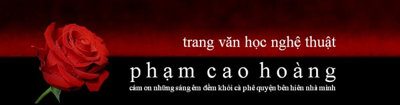 Blog Phạm Cao Hoàng