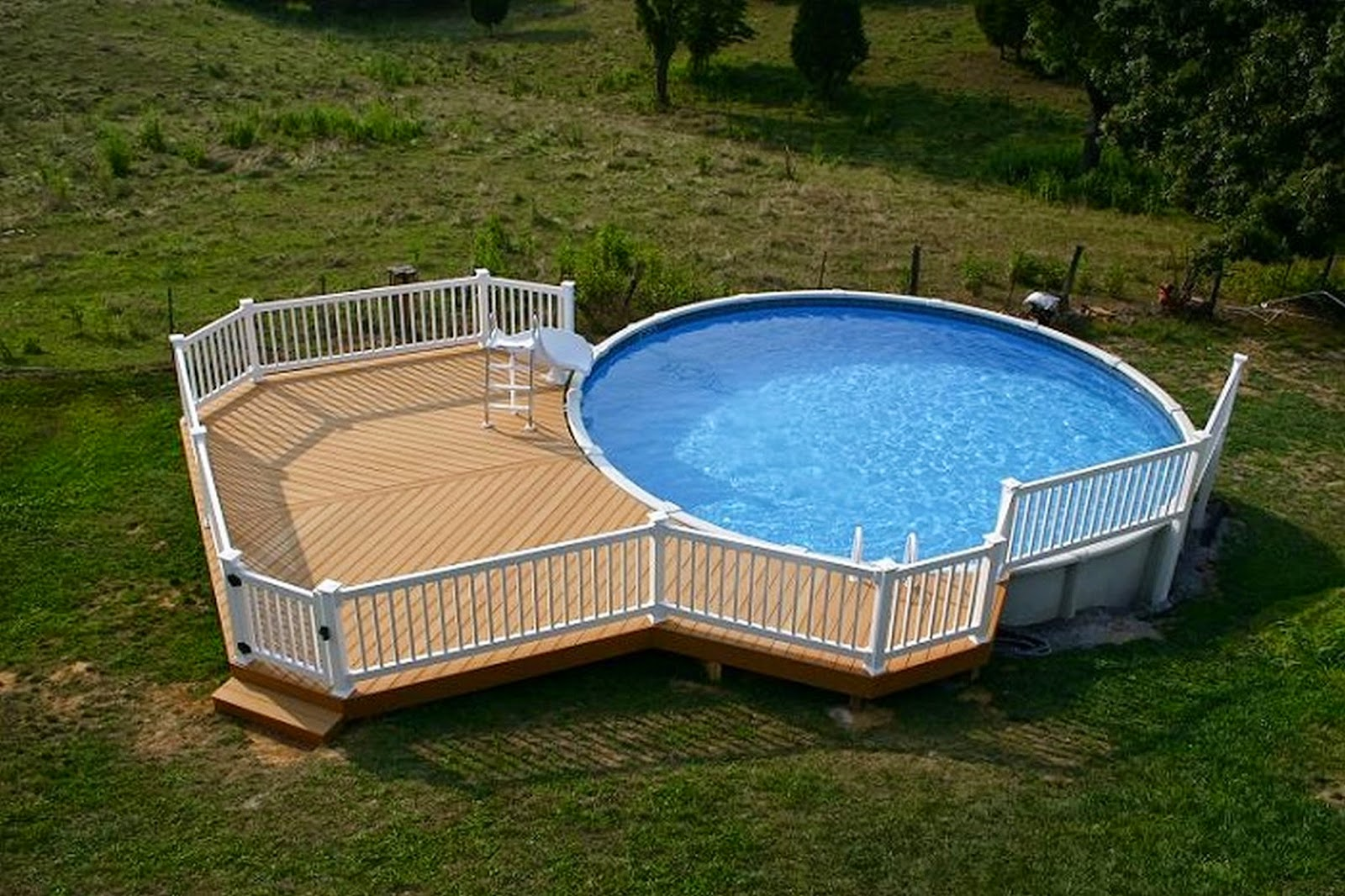 Amazing Modern Pool Deck Design For Swimming Pool Design Ideas - Swimming-pool-deck-designs