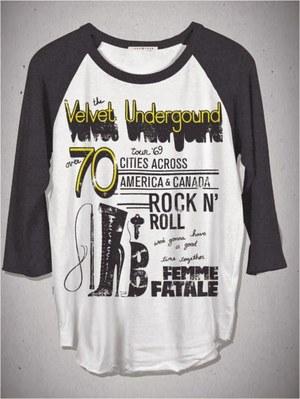 Velvet Underground Rock T-shirt
