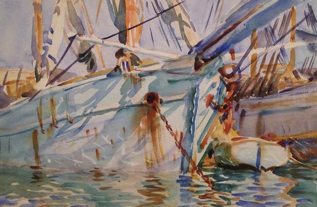 John Singer Sargent watercolor painting MFA Boston