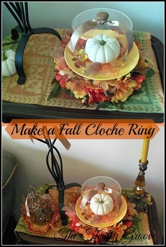 How to make a Fall Cloche Ring