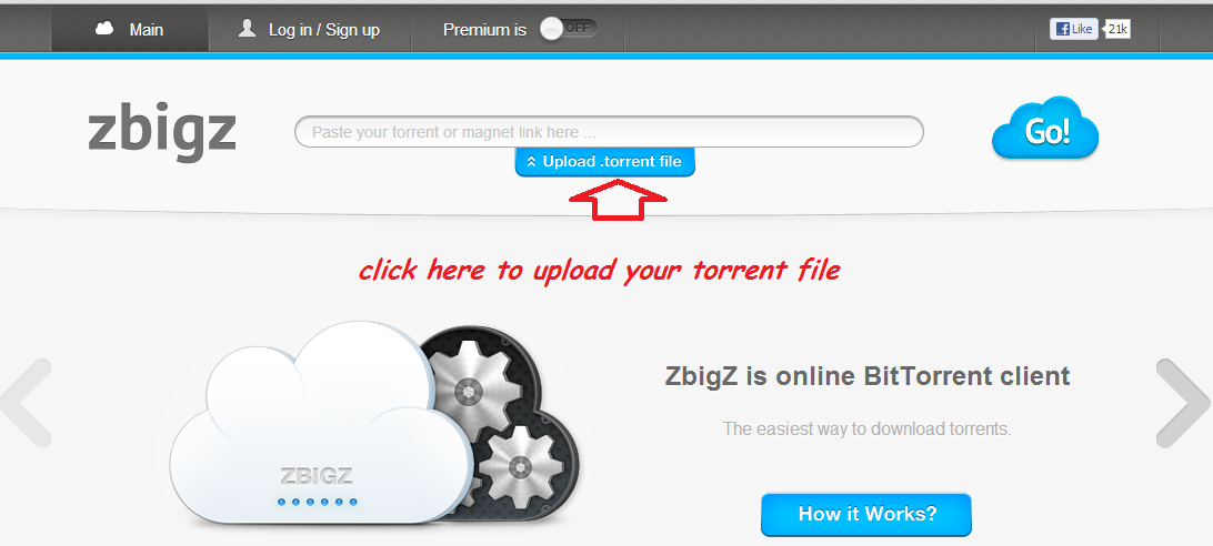 how to open torrented files online