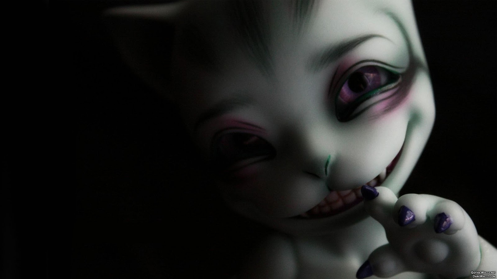 Scary weird creepy creature | Dark Gothic Wallpaper Download