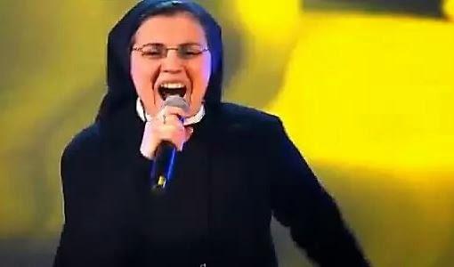 The Voice: Suor Cristina scuccia famosa in tutto il mondo