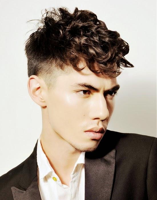 Moda cabellos cortes de pelo para hombres con rizos 2015 - Moda peinados hombre ...