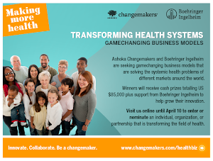 Deadline: April 10th, Transforming Health Systems