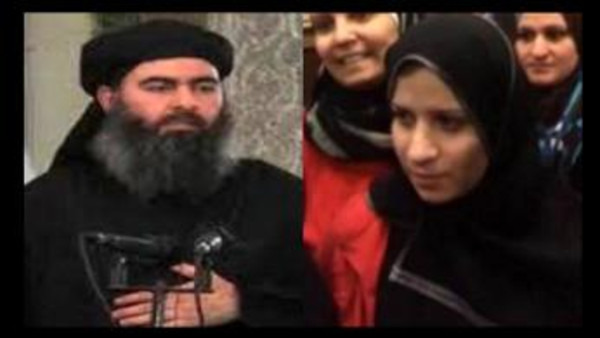 L'ex femme d'Abou Bakr al-Baghdadi libérée