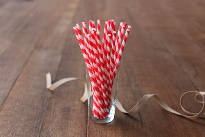 Minted Cherry Red Paper Straws Etsy Stalkers