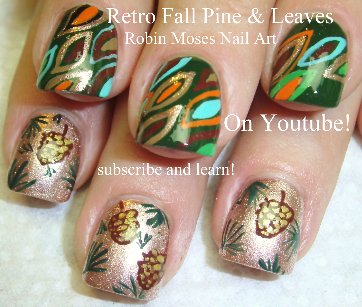 Robin Moses Nail Art: Sweaters And Plaid Flannel Nails Up