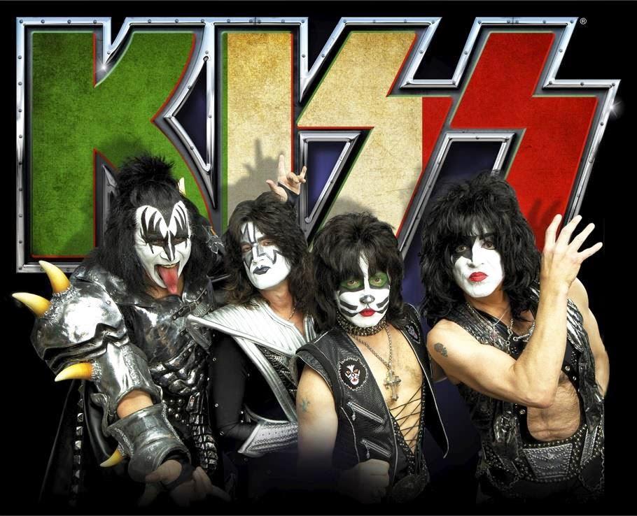 kiss - arena di verona - italia - giugno - 2015