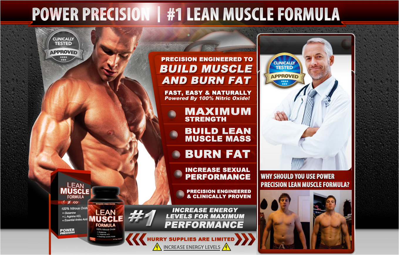 The Best Lean Muscle Formula : Free Power Precision Pills Supplement