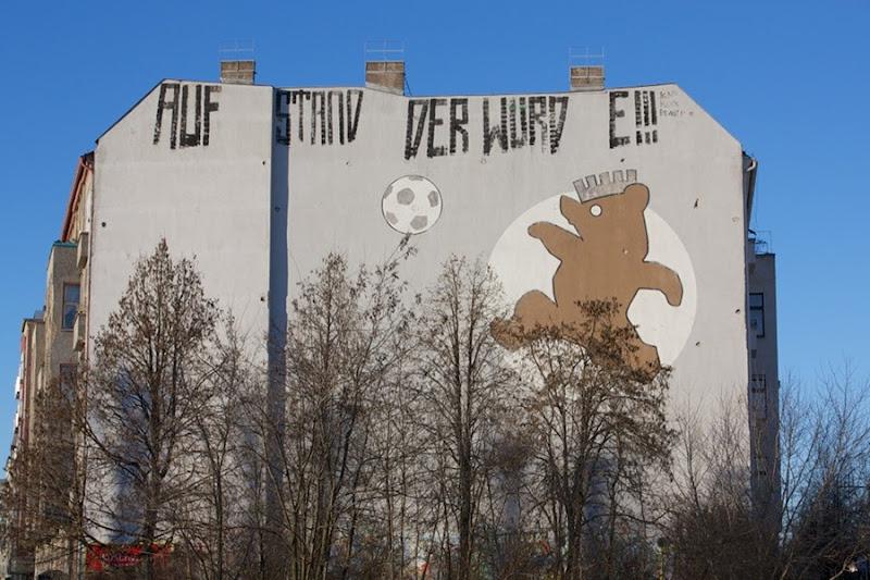 Mural cerca de Mauerpark, Berlín