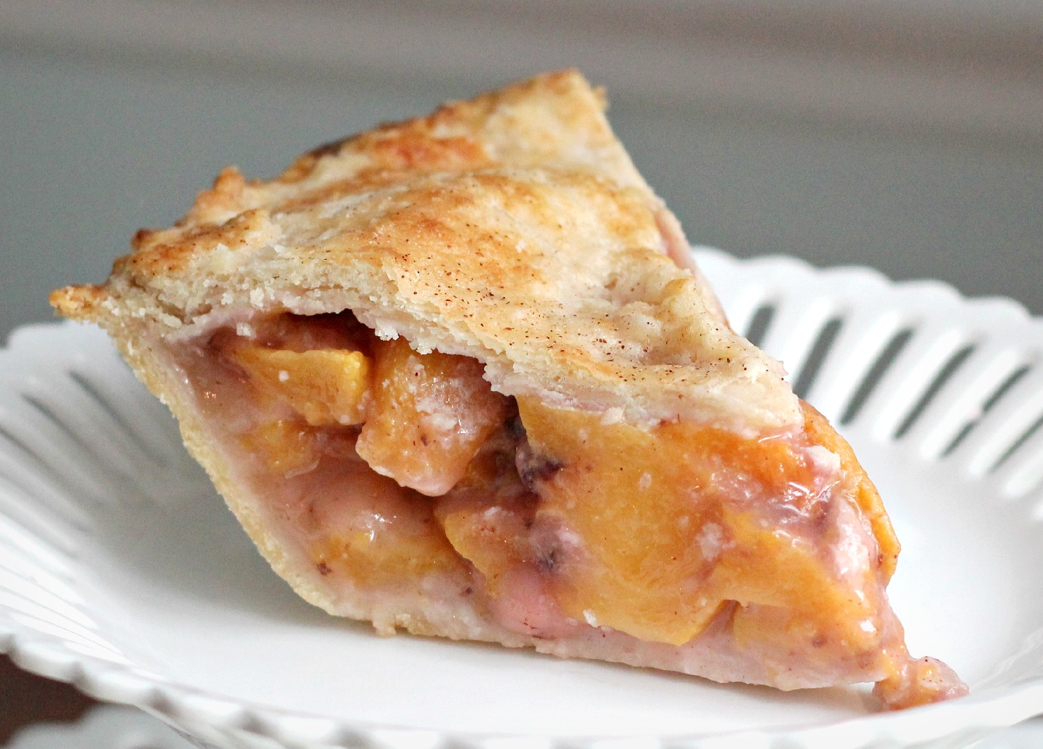 Fresh Peach Pie and Pastry Crust Recipe | Grateful Prayer ...