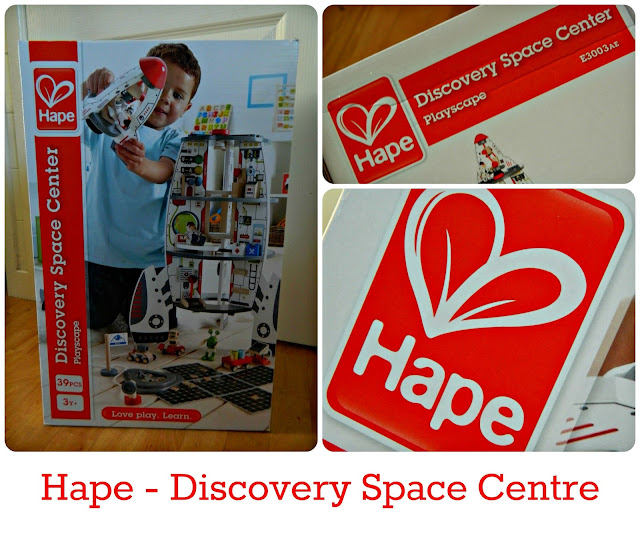 Hape Discovery Space Centre Review Wooden Spaceship Rocket toy
