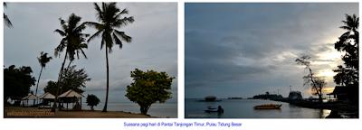 Pantai Tanjongan Timur, Pulau Tidung