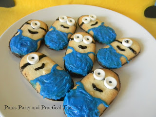 Despicable Me Minion Cookies