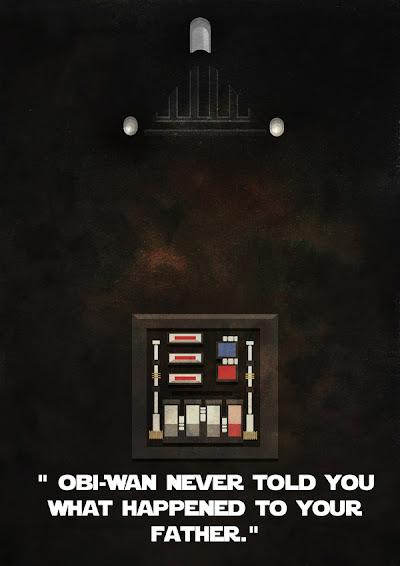 Star Wars Minimalista - Darth Vader