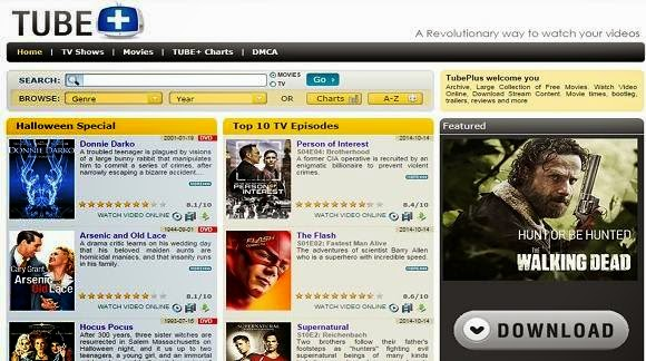 TubePlus is a better site to watch Online Tv series