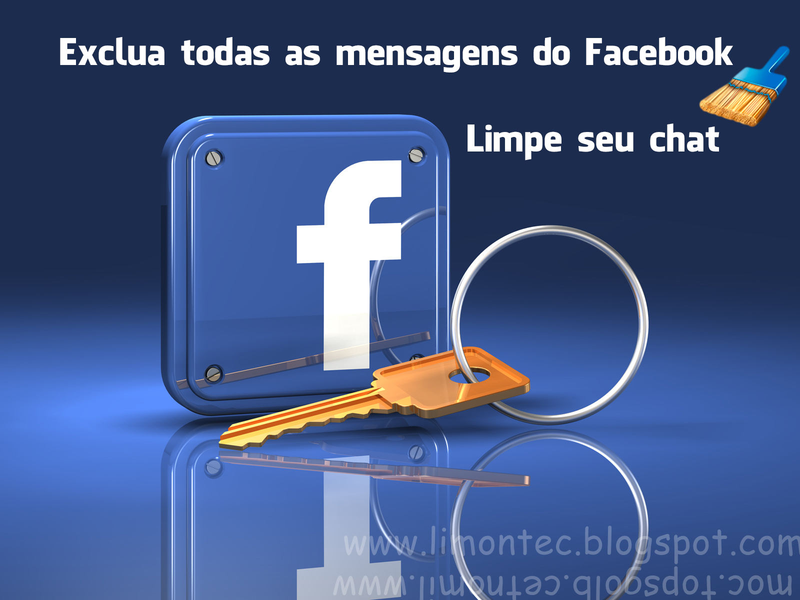 Facebook - Imagem retirada do Google / Modificada por: Limon Tec
