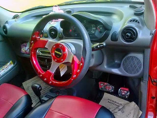 Modifikasi Interior Hyundai Atoz