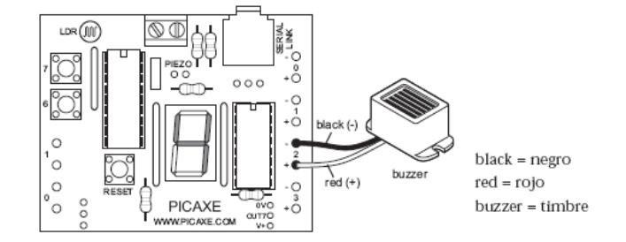 Circuito Zumbador Piezoelectrico : Como hacer un zumbador el ordenador elemento de