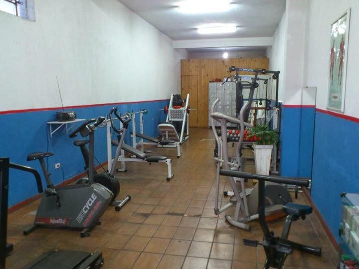 Sala de musculação terapêutica