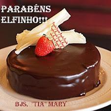 BOLO DA QUERIDA MARY P/ MEU ELFINHO