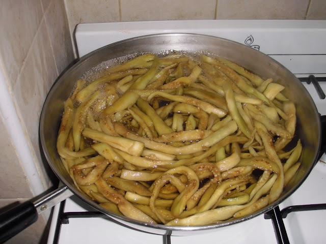 how to make pickled apple strips