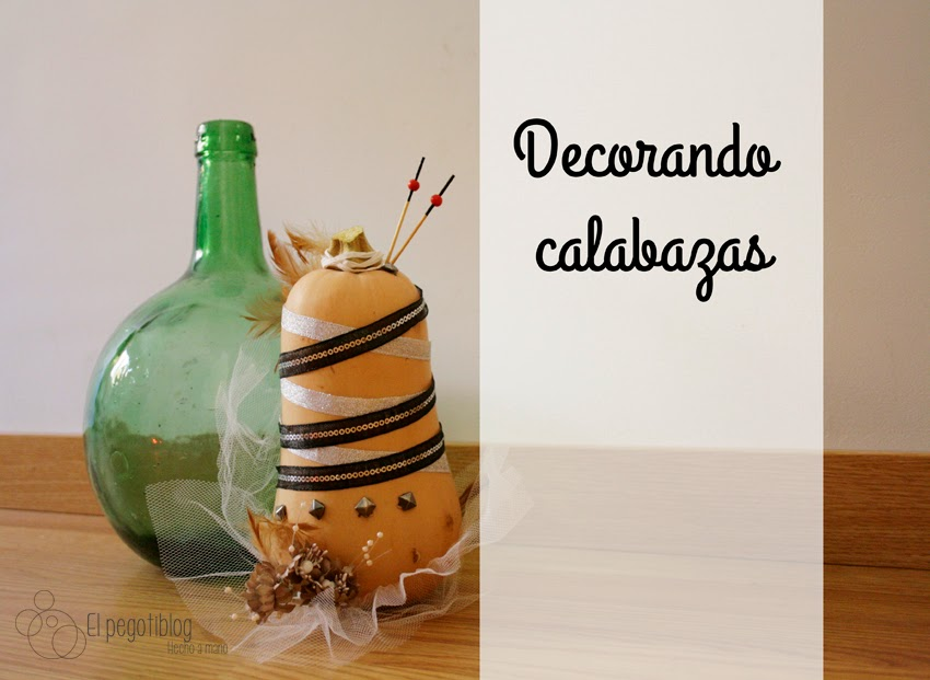 Decorando calabazas