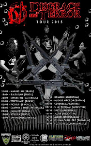 DISGRACE & TERROR TOUR 2015
