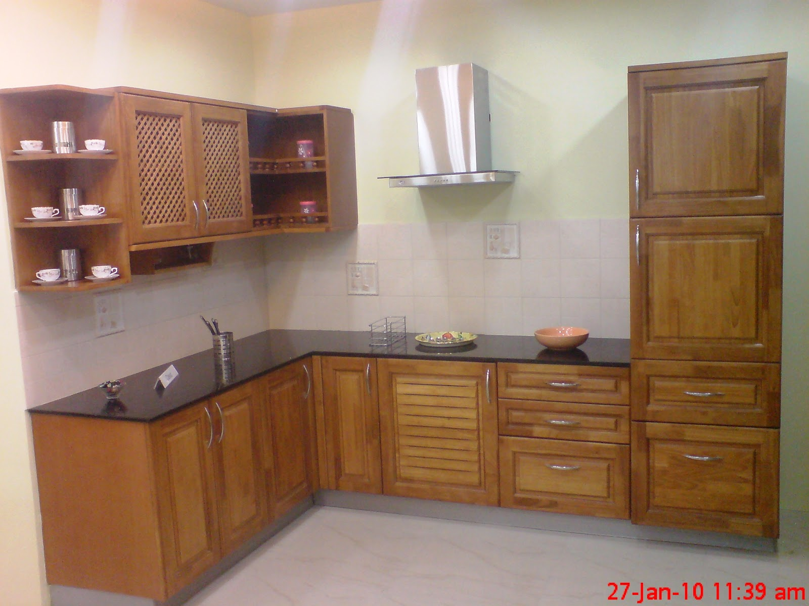 Lower middle class home interiors home design and style for Sample modular kitchen designs
