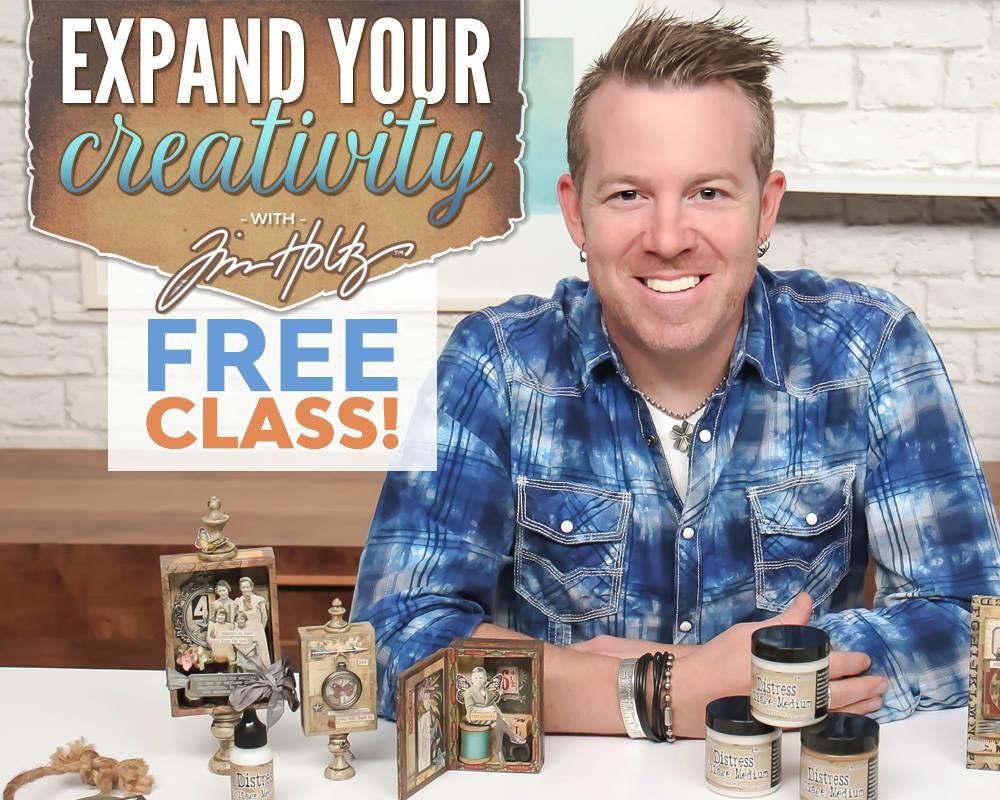 Tim Holtz Class