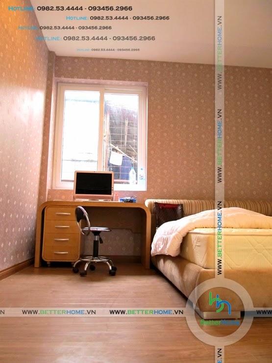 Thiết kế phòng ngủ chung cư Mandarin Garden