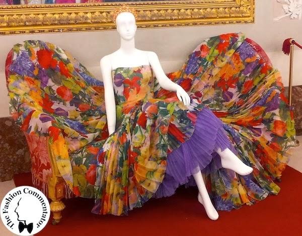 30 anni Galleria del Costume - abito Gianfranco Ferré per Christian Dior, metà anni 90, dono Cecilia Matteucci Lavarini