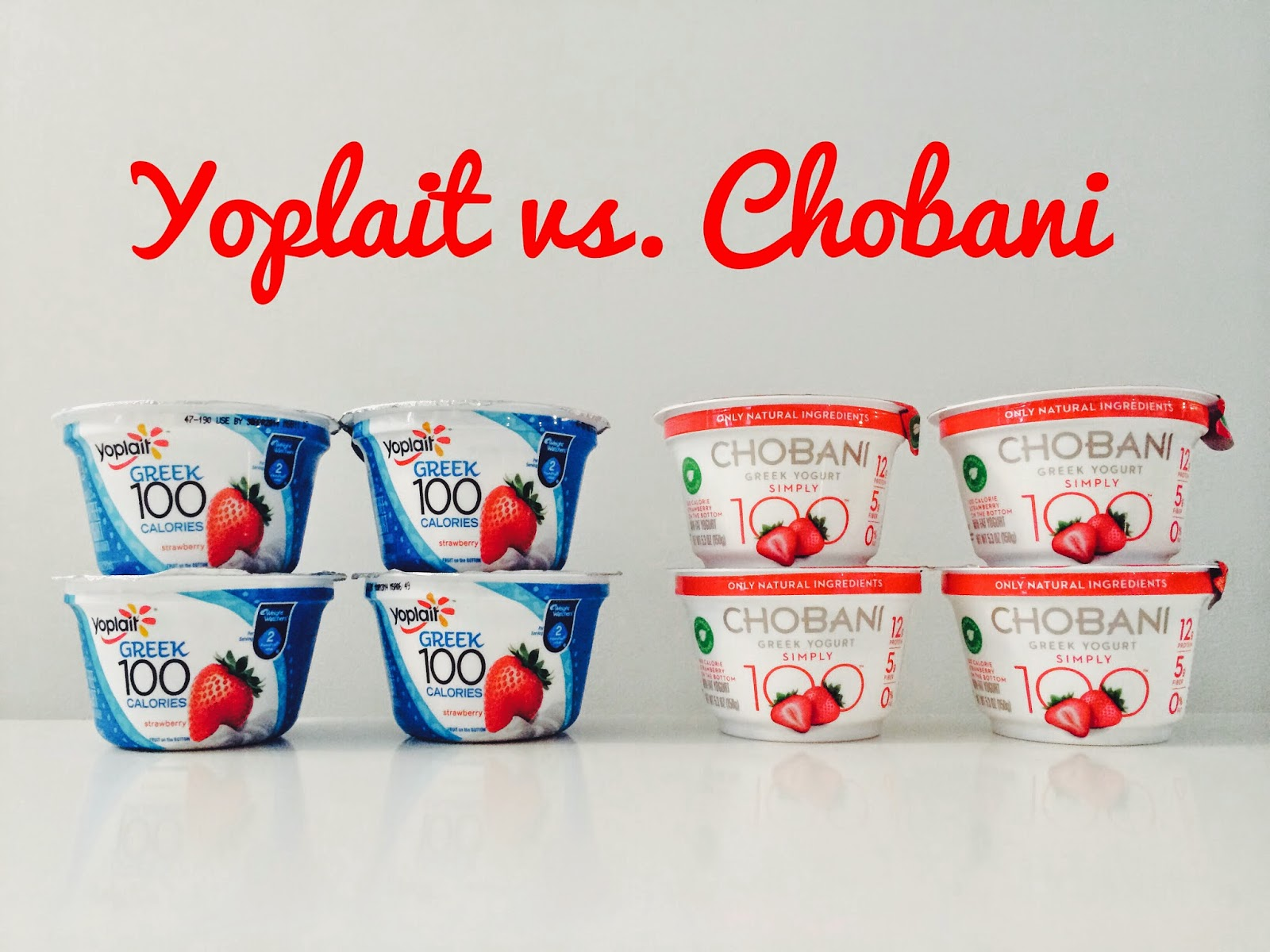 Yoplait vs. Chobani