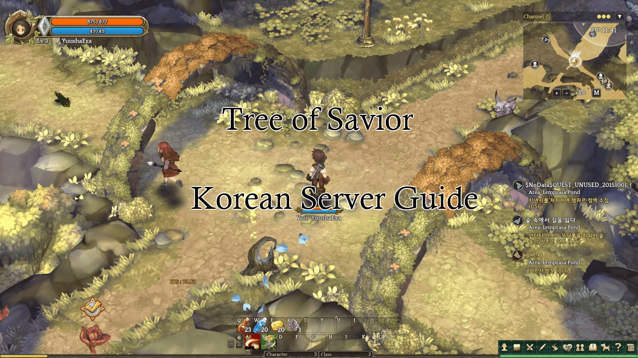 Tree of Savior Korean Server Guide