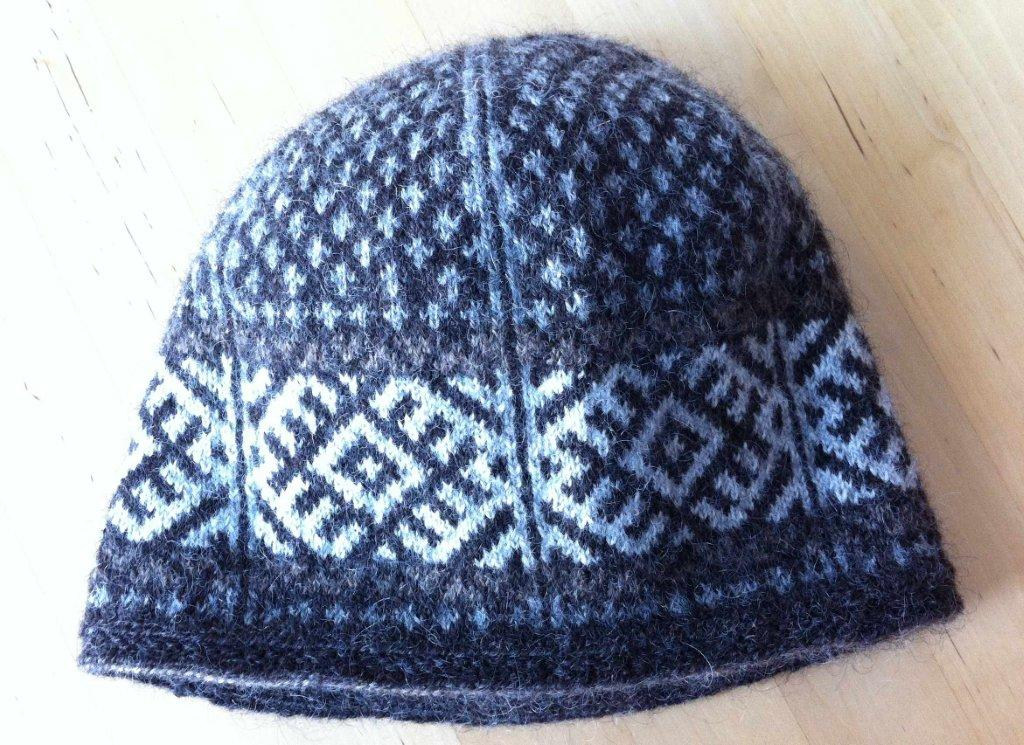 Knitting Pattern Russian Hat : Lappone: Komi Cap - Knitting Patterns from the Komi tradition