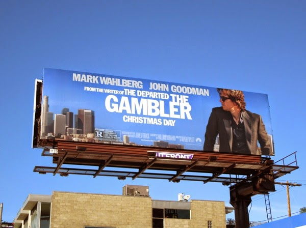 The Gambler movie remake billboard