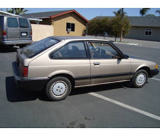 1985 Honda Accord Hatchback Bronze Brown 5 Speed