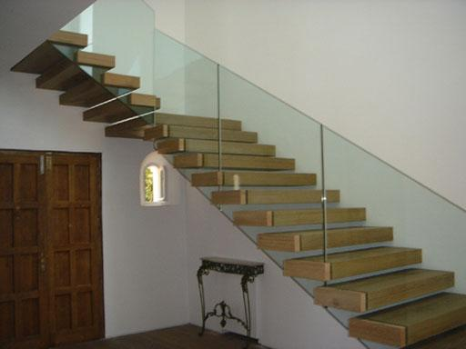 Decoraci n y arquitectura escaleras y vidrio stairs and glass - Escalera de vidrio ...